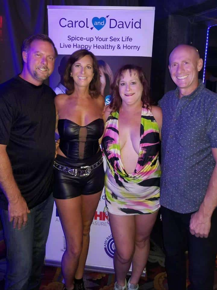 The Sexy Lifestyle with David and Carol at ClubFA Freedom Acres talking about the Couples Cruise and FAResort