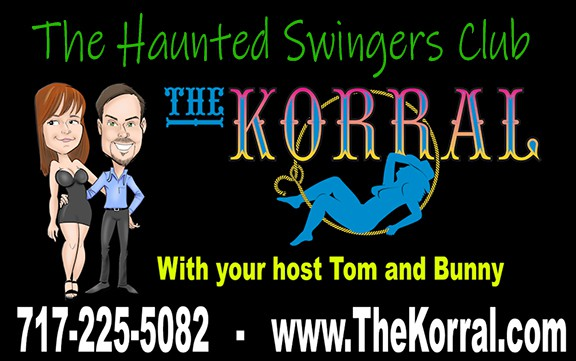 Tom and Bunny discuss the Korral, a haunted swingers club in Spring grove, PA with Tom's Trips. Want to go to Hedonism in Jamaica, call 800-285-0853