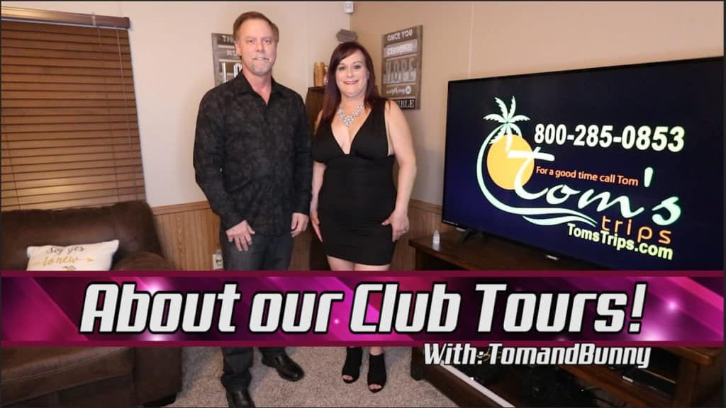 Swingers Club Tour Video with TomandBunny https://youtu.be/ItfJxySnmHI Please follow us on Twitter and Instagram @TomandBunny & @TomsTrips #TomandBunny #SwingerPodcast #YouTube #SwingerCouple #LifestyleBlogger #Swingers #SwingersClubs #SwingerParties #TomsTrips #ASNLM