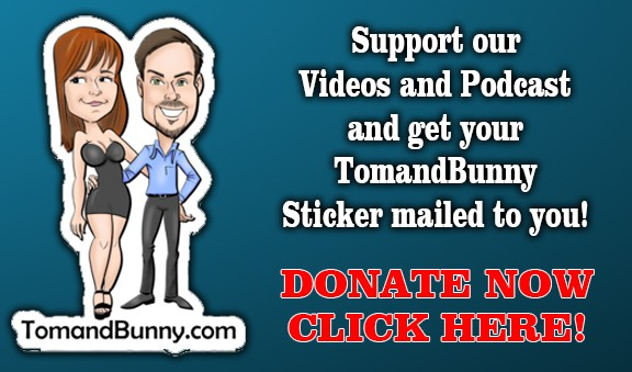 Support Tom and Bunny in the swinging lifestyle YouTube Podcast and blogs