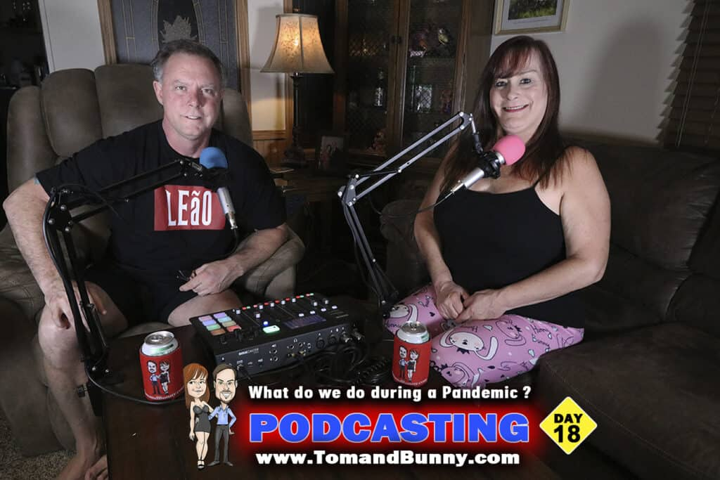 Day 18 - What do we do during a Pandemic - Podcasting