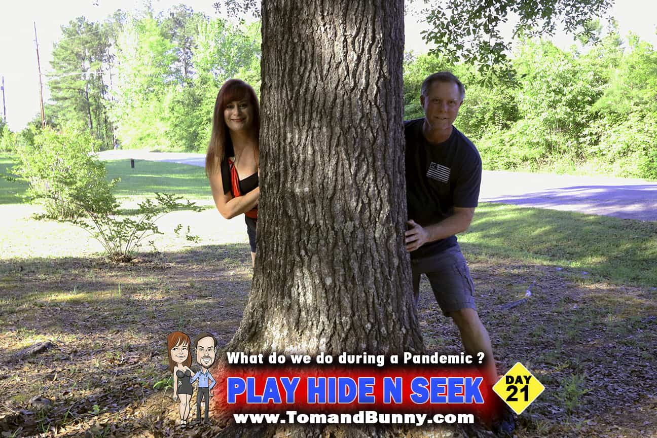 Day 21 - What do we do during a Pandemic -Play Hide n Seek