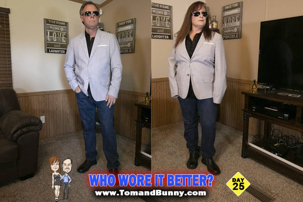 Day 25 - What do we do during a Pandemic - Who wore it better