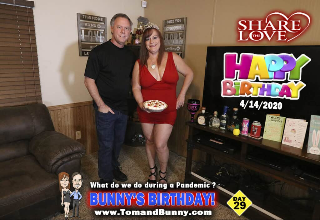 Day 29 - What do we do during a Pandemic - Bunnys Birthday