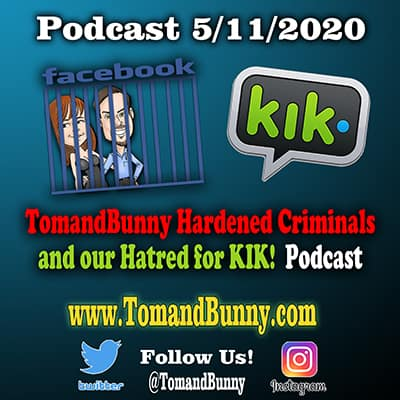 5-11-2020 Facebook Jail and KIK